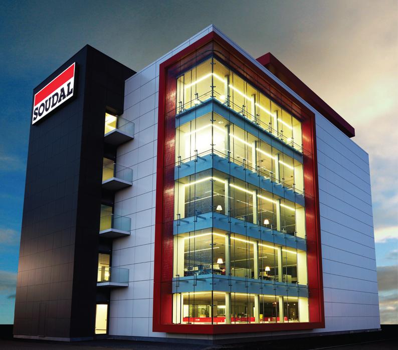 Soudal R&D Centre, Belgium