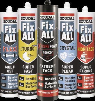 Fix All Hybrid Polymer Range