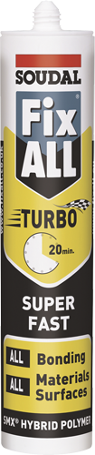 Soudal Fix All Turbo Fast acting adhesive construction