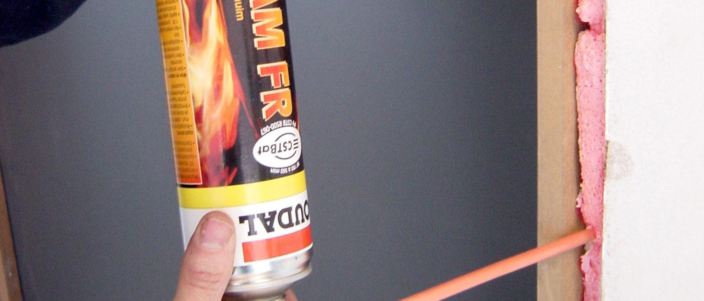 Fire-rated PU Foam