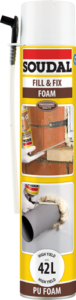 Soudal Fill and Fix PU Foam